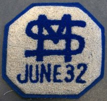 Image of SMJC 'SM June 32' Patch, c. 1928-1932