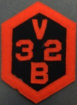 Image of SMHS 'V32B' Patch, c. 1928-1932