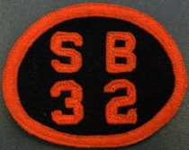 Image of SMHS 'SB32' Patch, c. 1928-1932