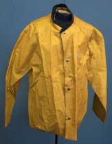 Image of SMCSO Sheriff Rain Slicker Belonging to Gjon T. Pawson, c. 1981-1986