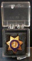 Image of SMCSO Deputy 5 Pin Belonging to Gjon T. Pawson, c. 1981-1986