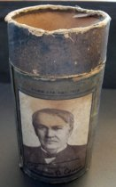 Image of Edison Blue Amberol Cylinder Case