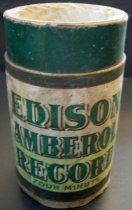 Image of Edison Amberol Record-Four Minute, Case