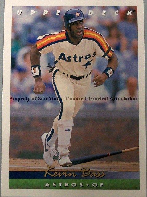 2015003010 Kevin Bass Baseball Card 1993 Upper Deck