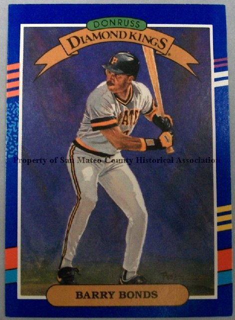 2015003013 Barry Bonds Baseball Card 1990 Donruss Paper