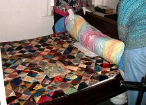 Image of Sanchez Quilt Show 2014 Bed-turning
