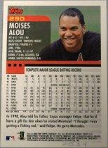 Image of Moises Alou Baseball Card, 1999