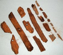 Image of Metal Fragments Recovered from City Centre Plaza