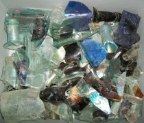 Image of 1999.048.476 - Glass Sherds Recovered from City Centre Plaza