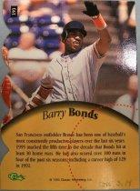 Image of Barry Bonds Baseball Card, 1995
