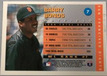 Image of Barry Bonds Baseball Card, 1995
