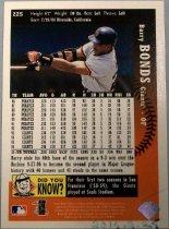Image of Barry Bonds Baseball Card, 1997