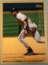 Image of Barry Bonds Baseball Card, 1999