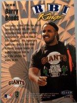 Image of Barry Bonds Baseball Card, 1998