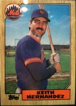 Image of Keith Hernandez Baseball Card