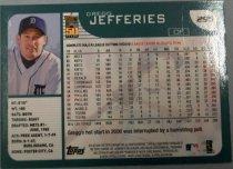 Image of Gregg Jefferies Baseball Card, 2000
