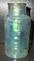 Image of Glue Bottle recovered from City Centre Plaza, c. 1845-1850.