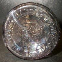 Image of Salt shaker bottle recovered from City Centre Plaza, c. 1877-1923.