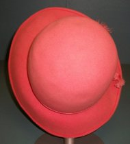 Image of Halle Brothers, Co. Asymetrical-brimmed Cloche, c. 1930s-1990s