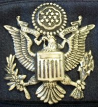Image of Officer's Service Cap to US Air Force Reserves Uniform, c. 1970-1982