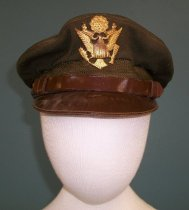 Image of WWII Army Airforce Service Cap, c. 1942-1946