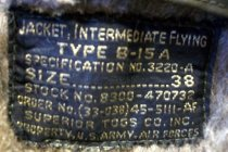 Image of US Army Air Forces B-15A Intermediate Flying Jacket Detail, c. 1942-1946