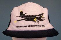 Image of US Air Force 731st Bombardment Squadron Souvenir Cap, c. 1953-1982