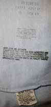 Image of Dress Shirt to US Air Force Uniform Detail, c. 1950-1982