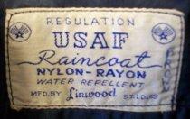 Image of US Air Force Uniform Regulation Rain Coat, c. 1950-1982
