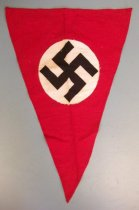 Image of WWII German Nazi Party Banner, c. 1942-1946