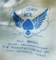 Image of US Air Force Uniform Garrison Cap Detail, c. 1950-1982