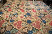 Image of Handwoven Rag Area Rug, 1850