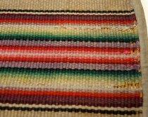Image of Woven Wool Throw Rug, n.d. (detail)