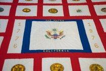 Image of San Mateo 50 State Bicentennial Quilt, 1977