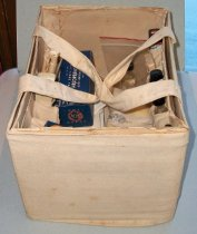 Image of Block Warden's first aid kit used during World War II