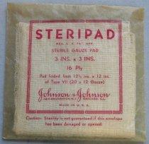 Image of Steripad Sterile Gauze Pads, c. 1941-1945