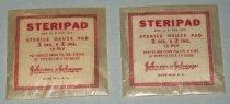 Image of Steripad Sterile Gauze Pad, c. 1941-1945