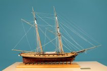 Image of Prince De Nuefchatel Model Ship by Charles Parsons, 1814