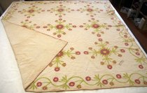 Image of Rose of Sharon Quilt, March 12, 1863