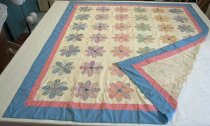 Image of Dresden Plate Variation Quilt Top, 1937