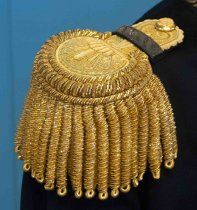 Image of Captain William Matson Swedish Consul General Uniform Epaulets, c. 1905-191