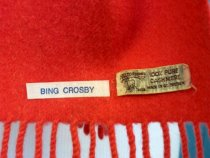 Image of Cashmere Scarf Worn by Bing Crosby