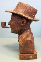 Image of Portrait Bust of Bing Crosby, 1976