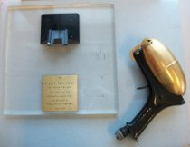 Image of Raychem Zap Gun Award presented to Paul M Cook,1968