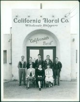 Image of 2016.004.001 - Packing house of California Floral Co., Redwood City, Photograph, c. 1935-1945