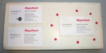 Image of Chet Sandberg Chemelex and Raychem Business Cards