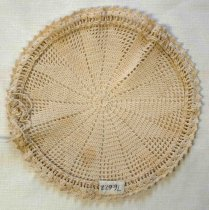 Image of Crocheted Hot Plate Cover, n.d.