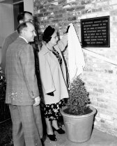 Image of Dedication of Burlingame's New Community Center, 1949