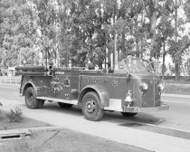 Image of Burlingame Fire Department Equipment, 1949