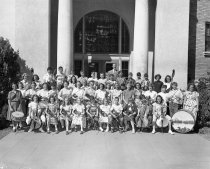 Image of Burlingame McKinley School Orchestra, 1949